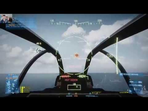 Battlefield 3 Helicopter Gameplay Kharg Island