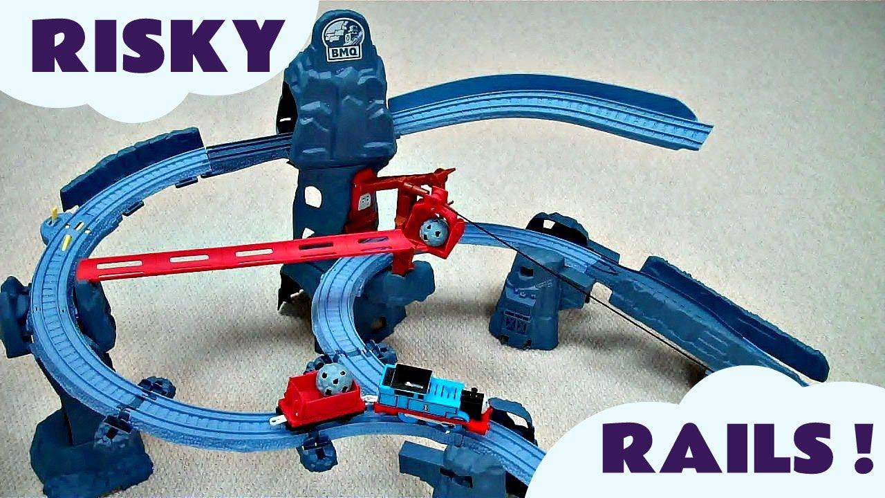 Risky Rails Bridge Drop Set Kids Thomas And Friends Toy Train Thomas