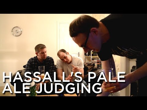 2018-02-17 'Hassall's American Pale Ale Judging'