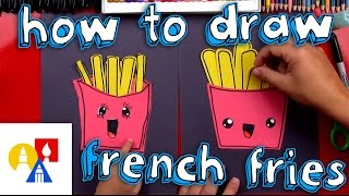 How To Draw French Fries Cutout