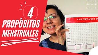 4 Propósitos (menstruales) para este 2021 / Copa Menstrual México