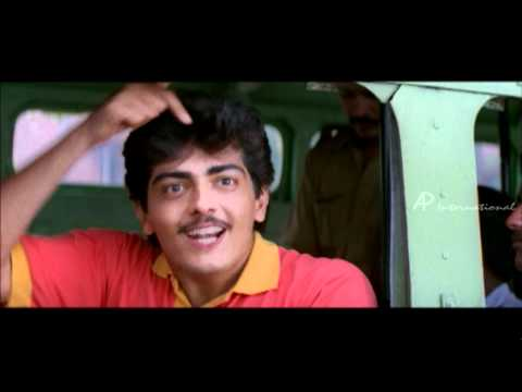 Aasai  Tamil Movie  Scenes  Clips  Comedy  Songs  Ajith Meeting Suvalakshmi Scenes