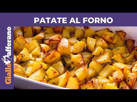 Come Fare Patate Al Forno Perfette