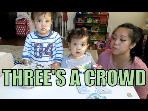 Three's A Crowd - April 30, 2016 -  ItsJudysLife Vlogs