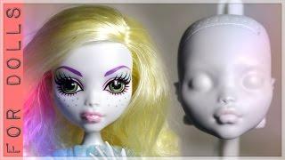 видео КАК СТЕРЕТЬ ЛИЦО КУКЛЕ БЕЗ РАЗВОДОВ И ПЯТЕН/Смыть лицо кукле/Стереть макияж кукле/Убрать пятна