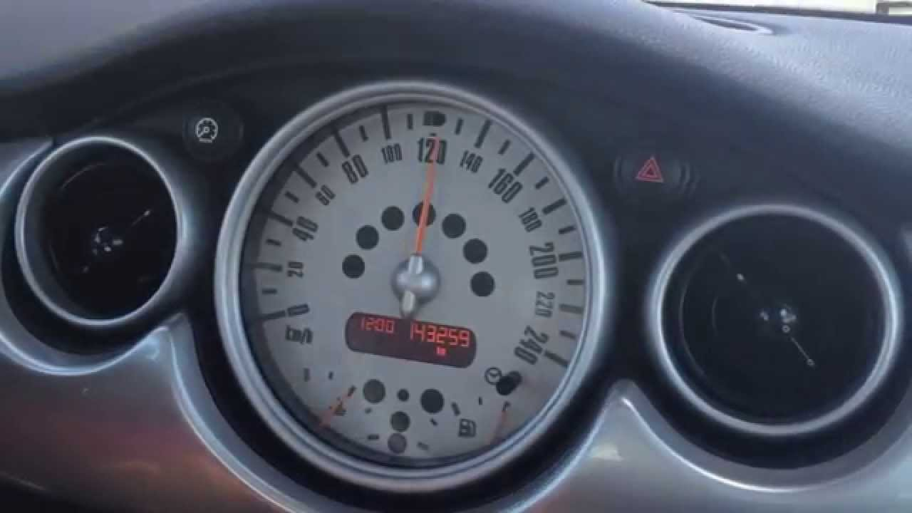 small resolution of acceleration 0 160 km h 2006 mini cooper s manual transmission 125 kw 170 ps youtube