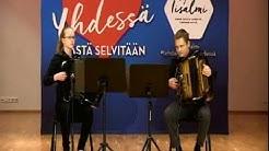 Kevätsäveliä harmonikalla, Niko Hänninen ja Milja Tikkanen, 16.4.2020