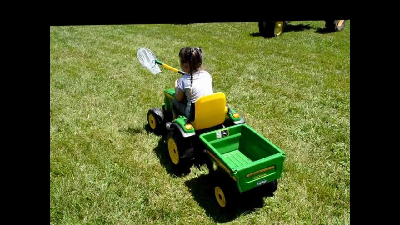 John Deere Peg Perego Turf Tractor at Antique Tractor Pull
