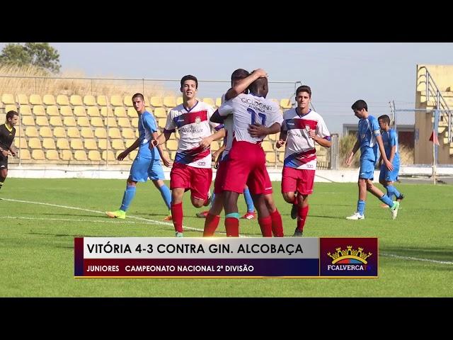 FC Alverca 4 vs Ginásio Alcobaça 3 - Melhores momentos