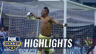 Arroyo equalizes for America from distance | 2015-16 CONCACAF Champions League Highlights