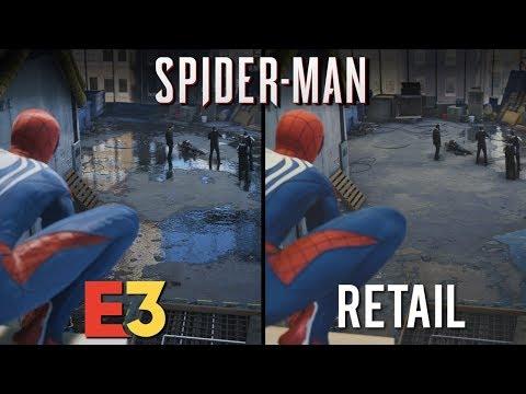 Spider-Man E3 vs Retail | Direct Comparison