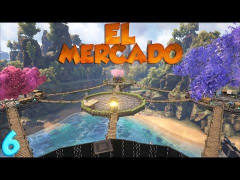 STARK WARS#6|YA SOY RICO!VAMOS POR PRIMERA VEZ AL MERCADO|ARK ESPAÑOL