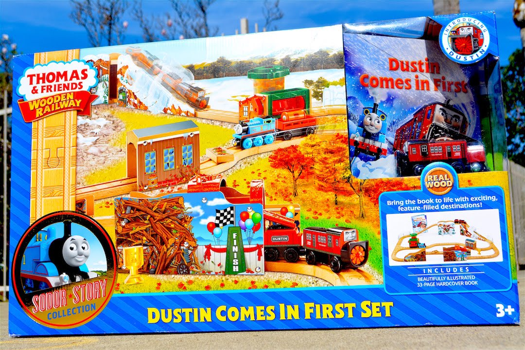 Thomas And Friends DUSTIN COMES IN FIRST SET - Wooden Railway Toy ...