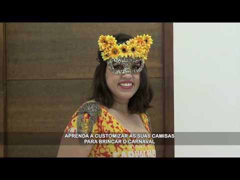 Aprenda a customizar a roupa de Carnaval