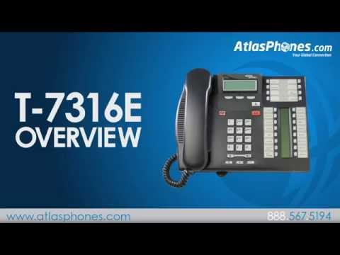 Nortel T7316E Avaya T7316E Phone Overview