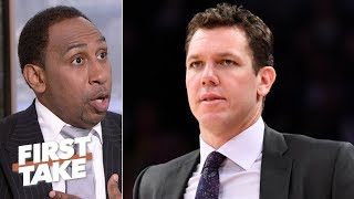 Download Speed of Luke Walton hire by Kings is problematic - Stephen A. | First Take Mp3 and Videos