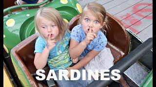 SARDINES AND ROLLER COASTERS!!   HIDE AND SEEK!
