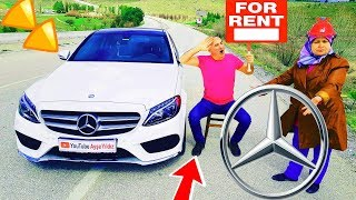 Ayşe Yıldız New Mercedes Car Rental And Entertainment Funny Video & Crushing Crunchy & Soft Things b