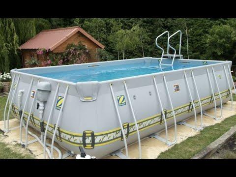 piscina desmontable bricoman a youtube