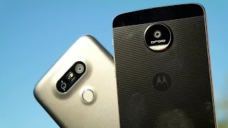 Moto Z vs LG G5: Modular phone fight!