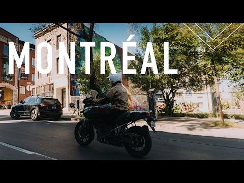 Montréal Motorcycle Trip