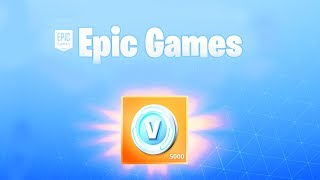 The FREE V BUCKS NOW in Fortnite..