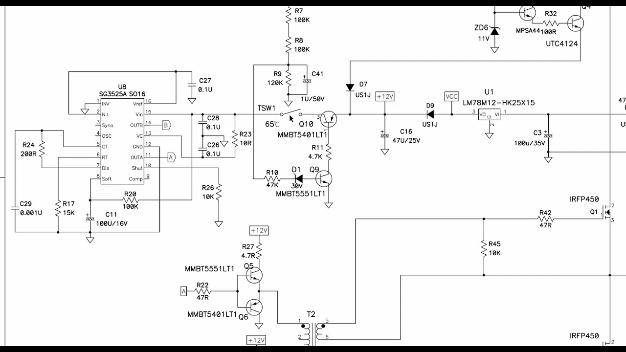 Download JBL 518S Service Bulletin Modification to prevent PCB  burn up during thermal Trip on 240V mains