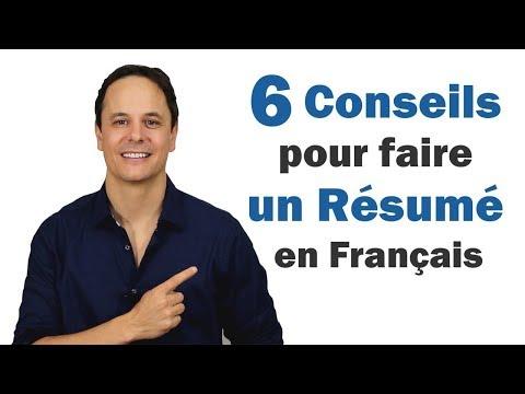 6 Conseils pour faire un Résumé en Français 📋🙂