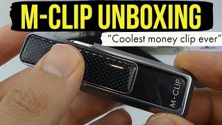 M Clip Money Clip Unboxing And Initial Thoughts - Why this is the coolest money clip