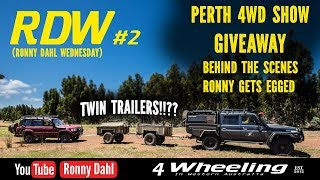 RDW2 Ronny gets egged, GIVEAWAY & twin trailers