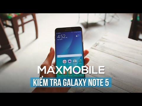 Những lưu ý khi mua Samsung galaxy note 5 Cũ