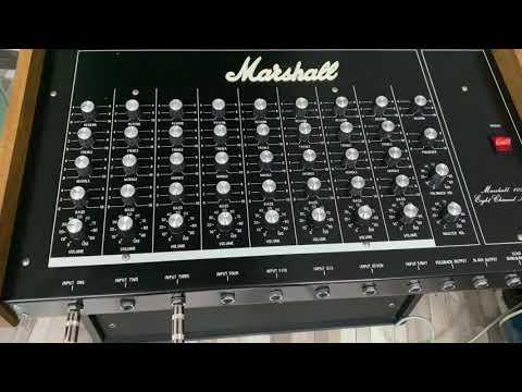 Test Marshall 2125 avec clavier Technics Sx-P50