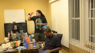 Sasha Go Hard, King Louie, SD, Chella H Listening To Showtime & Life Of A Savage