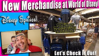 New Star Wars Rise of Skywalker and Frozen 2 Merchandise At World Of Disney! | Disney Springs!