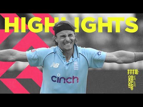 England v Sri Lanka - Highlights | Tom Curran Takes 4 Before Rain | 3rd Men's Royal London ODI 2021
