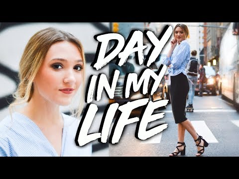 A DAY IN THE LIFE OF A BUSINESS COLLEGE STUDENT IN NYC!