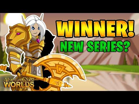 Artix Point Winner Announcement & *NEW* AQW Mini-Series WIP!