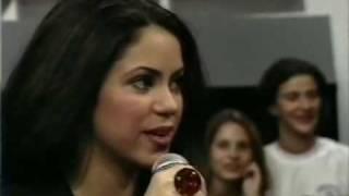 Shakira-Brasil-1997(1)-Programa Livre- Pies Descalzos, Sueños Blancos/entrevista
