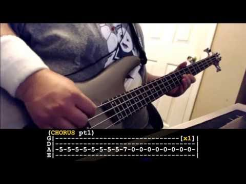 Collective Soul - The World I Know Bass Tribute w/ tabs