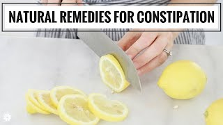 8 Natural Remedies For Constipation | Health & Wellness | Healthy Grocery Girl screenshot 5