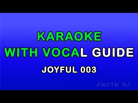 Karaoke Joyful Songs (Live sound)