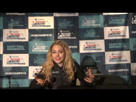 Interview with US Figure Skating National Champion 2016 Gracie Gold
