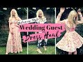Boho Wedding Guest Dresses Haul & Try On | £30-£200 ASOS H&M | SJ STRUM