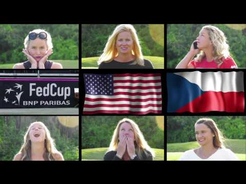 Introducing... The Tennis Bunch at Fed Cup by BNP Paribas