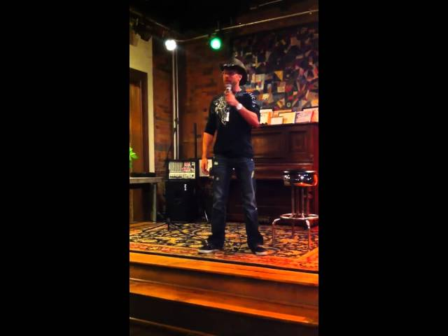 Tom Beal 1st Comedy Stand Up Routine Ever Travel Video