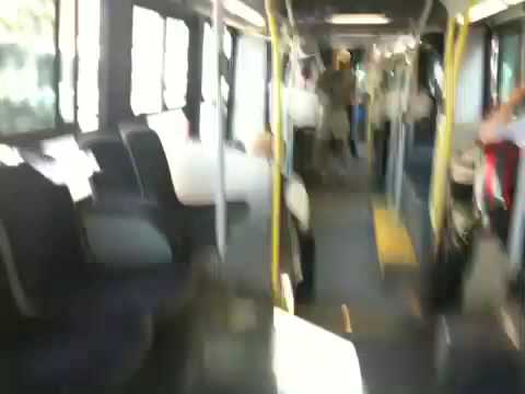New bus in Montreal