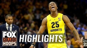 Marquette knocks off No. 19 Butler in impressive fashion, 76-57 | FOX COLLEGE HOOPS HIGHLIGHTS