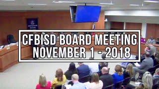 Board Meeting   Nov  1, 2018