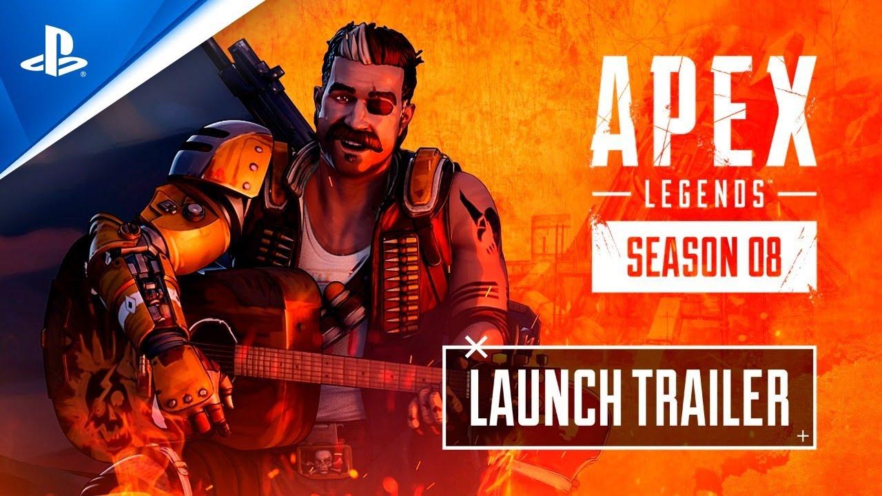 Apex Legends - Temporada 8: Trailer de Lançamento Mayhem - PS5, PS4