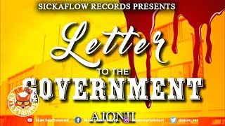 Ajonii - Letter To The Government - January 2019
